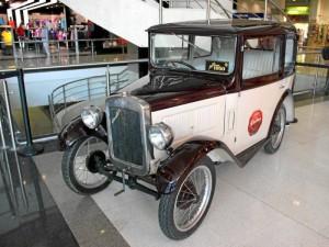 Auto del año 1930.