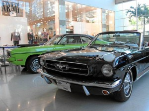 Un Ford Mustang de 1965.