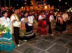 Las danzas del Ballet Suaty estarán presentes en Panachi este fin de semana.