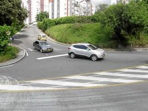 La entrada al barrio La Floresta será una de las más concurridas con el nuevo pico y placa, pues es el punto de continuidad de la carretera antigua para llegar a norte de Bucaramanga.
