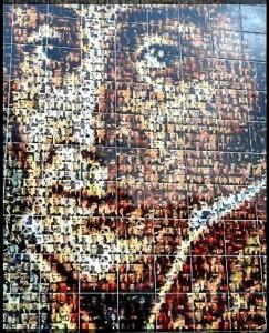 Obra 'Bolívar en Mosaico'.