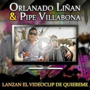 Orlando Liñán y Pipe Villabona grabaron el video musical de 'Quiéreme' en Panachi.