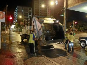 La recolección de basuras diaria (lunes a sábado) y en las noches, será desde el 6 de febrero.