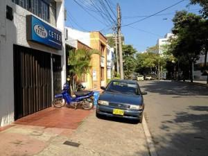 Esta foto fue enviada por Oscar A. y fue tomada en la Avenida González Valencia con calle 55.