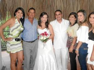 Ángela Mantilla, Luis Mantilla, July León, Luis Mantilla, Martha Parra, Martha Liliana Mantilla y Laura Marcela Mantilla.