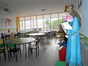 Desde preescolar el colegio infunde sus valores cristianos que lo caracterizan.