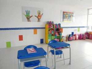 El colorido hace parte de los cambios en los salones de preescolar.