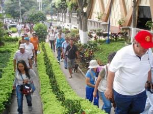 La primera 'Caminata Cultural' fue el sábado 7 de febrero.