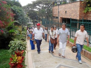 Las 'Caminatas Culturales' de Gente fueron un éxito en su primera versión.