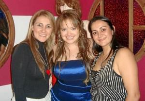 Mary Venus Cardona, Katherin Moreno y Sonia Viviana Jaimes.