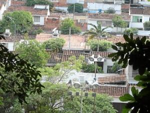 Panorámica del barrio Pan de Azúcar.