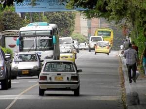 Residentes de La Floresta se manifestaron ante las quejas de otros vecinos del sector por el supuesto aumento del flujo vehicular en la carrera 45.