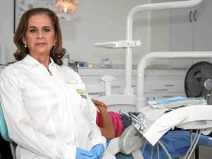 Mireya Velandia Ulloa, presidenta del Tribunal de Ética Odontológica de Santander.