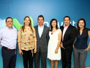 Eduardo Vargas, Karime Gómez, Jesús Daza, Angélica María Rojas, Julio Ardila y Constanza Ardila.