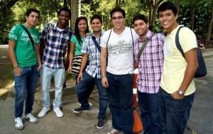 Juan Diego Pieschacón, Belmer Rojas, Ethieiny Cruz, Andrés Moreno, Juan Rodríguez, Juan Camilo Moreno y Brian Piñeres.