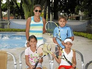 María Paula Arenas, Valeria Carreño, María Paula Ribero y William Ribero.