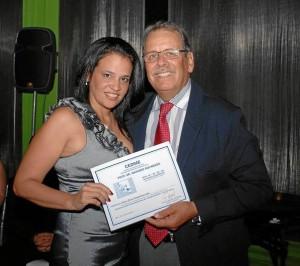 Silvia Rueda Moncada y Mariano Rocabado.