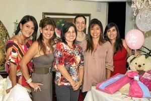 Claudia Lucía Peña, Liliana Mantilla Serrano, Mónica Patiño Gómez, Martha Lucía Africano León, Ana Mercedes Vargas Martínez y Silvia Rueda Gómez.