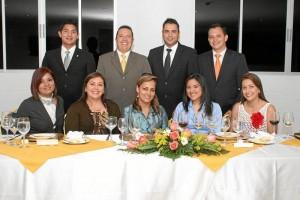 Alejandra  Gutiérrez, Luz  Rodríguez, Denis Valcárcel, Yuli Zambrano, Jenny  Osorio, Reinaldo Fernández, Alejandro Bohórquez, Gustavo  Trillos y Raúl  Serrano.