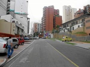 En este sector de la carrera 39 ocurrió el robo denunciado por una ciudadana de Cabecera.