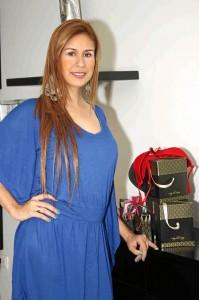 Ángela Suárez, santandereana, diseñadora de ropa interior.