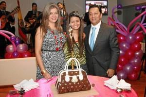 Glenys Pedraza, Paula Gonzales Pedraza y Luis Francisco Bohórquez.