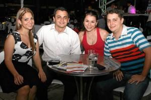 Natalia Mejía, Germán Díaz, Maira Meneses y Marlon Arévalo.
