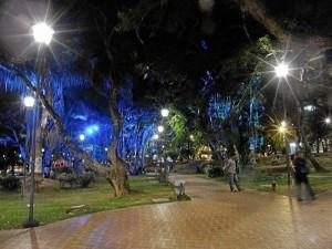 Así luce por estos días el parque San Pío.