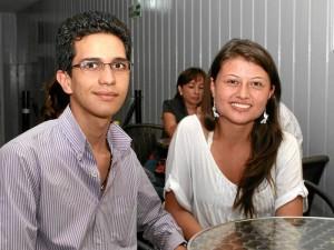 Jaime Andrés Ortega y Jenny Puentes.
