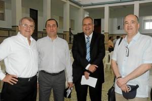 Virgilio Galvis, Héctor Fernando García, Cristhian Mora y José Luis Ramírez.