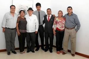 Martín Rueda, Nohora Barbosa, Julio Ángel Acosta, Freddy Cáceres, Martín Toloza, Blanca María Toloza y Rafael Antonio Marín.