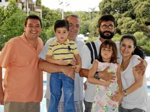 Carlos Castillo Bayter, Javier Enrique Castillo Bayter, Juan Carlos Castillo Cadena, María Valentina Castillo y Sandra María Bayter.