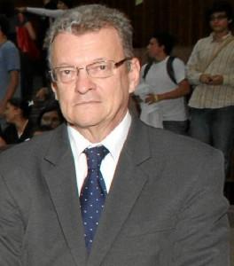 Rafael Serrano Sarmiento, rector de la Universidad de Santander, Udes.