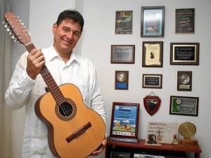 Juan Manuel Prieto se trajo el primer puesto del Festival Nacional de la Música Colombiana.