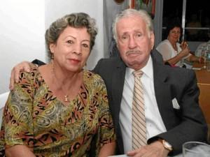 Guillermo Reyes Jurado y Beatriz Moreno.