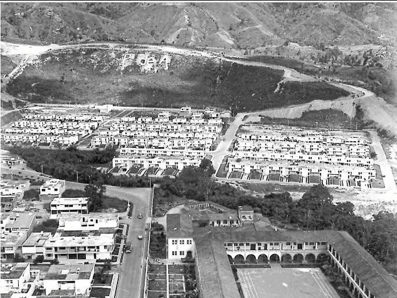 Así se observaba el sector de Pan de Azúcar y Terrazas en los años sesenta. (Foto de Carlos Eslava)
