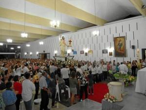 La Semana Santa culminó con la Vigilia de Resurrección, el sábado en la noche.