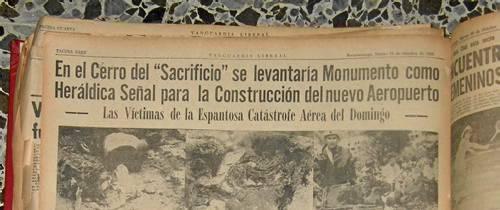 Desastre aéreo en el cerro de Pan de Azúcar hace 47 años