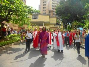 Jesús fue representado por Juan Fernando Arango, integrante del MPPC.