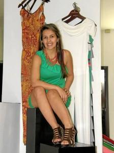 La diseñadora Carolina Galvis lanza su línea 'Ropa para todos los días para todas las mujeres'.