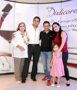 Yenis Casalins, Luis Eduardo Chinchilla, Piter Albeiro y Derly Milena Vega.