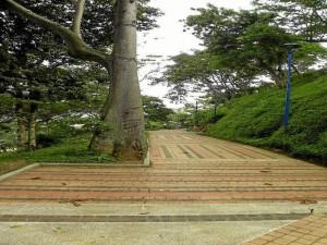 Así lucía este parque el pasado julio cuando fue entregado a la comunidad.