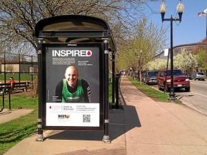 Omar Gutiérrez fue escogido para la campaña publicitaria local del equipo y su imagen aparece en espacios públicos, vallas, estaciones de bus, trenes, etc.