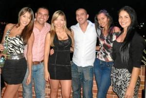 Slendy Wheats, César Figueroa, Laura Rojas, Mauricio Soto, Jessica Rodríguez y Eliana Argüello.