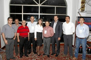 Javier Mesa, Felipe Mesa, Segundo Mesa, Carlos Alberto Gómez, Sandra Rico, Pablo Prada, Jaime Beltrán, Alejandro Martín y William Torres.