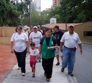 Así fue la Caminata Cultural del 31 de marzo de 2012