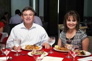 Edgar Velasco y Lucía Cristina Díaz.