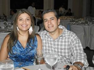 Liliana Saavedra y Harold Rosero.
