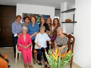 Beatriz Gómez, Yolanda Gómez, Luz Eugenia Gómez, Gladys Nieto, Johanna Cuellar, Martha Peralta, Margarita Prada, Elvinia Prada y Lucila Prada.
