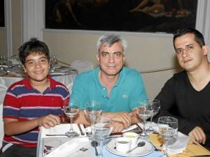 Julián Andrés Rodríguez, Julián Rodríguez y César Pinilla.